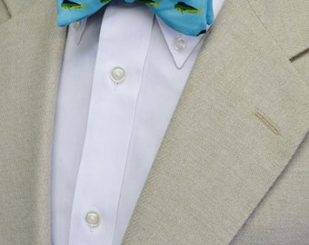 Mahi mahi fish etsy for Fish bow tie