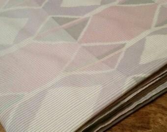 Pastel Geometric Flat Sheet