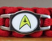 Star Trek Cat Collar, Paracord Collar