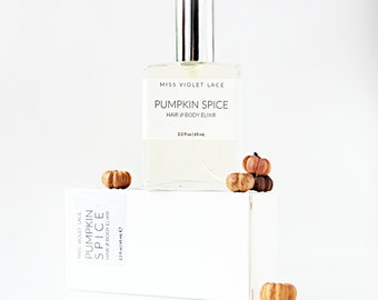 Pumpkin Spice Body Mist | Hair Perfume, Pumpkin Perfume | Fall Autumn Body Mist | 100% natural and vegan