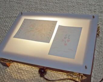 Vintage Embossing Light Box & Embossing Supplies