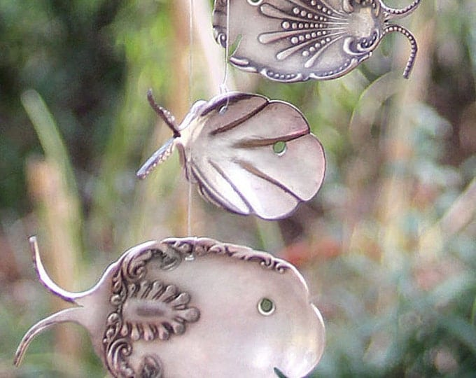 Reserved Custom Listing: Add Two Art Nouveau Spoon Fish To Your Driftwood Planter With Ornate Octopus