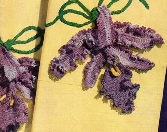 PILLOW CASES Decorative Crochet - 1950 Spool Cotton Book No. 264