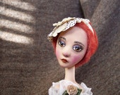 Painted Lady Candlestick Doll: Yvonne