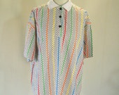Tomboy Polka Dot New Wave Stripe Shirt Top
