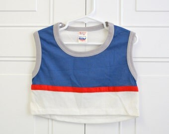1980s Elkay Boys' Cropped Athletic Shirt