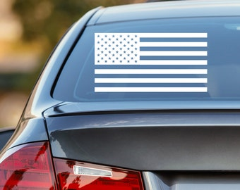 American Flag Decal, US Flag Decal, US American Flag Decal, Patriotic Decal, American Flag Car Decal, Laptop Sticker, Laptop Decal, US Flag