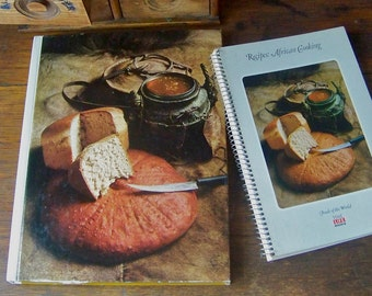Vintage African Cooking Foods of the World Cookbook Time Life Series Africa History and Culture 1970s Vintage