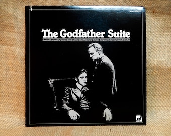 The GODFATHER Suite - Original Soundtrack - 1977 Vintage Vinyl  Record Album