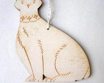 Polar Bear Holiday Ornament