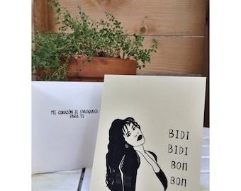 1 Selena Card