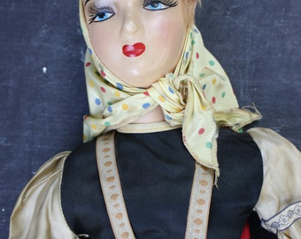 Vintage Regal Boudoir Doll, Large, 35 inches, original outfit. PRICE REDUCED