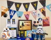 Star Wars Birthday Birthday Party DIY Printable Kit - INSTANT DOWNLOAD - Star Wars Inspired