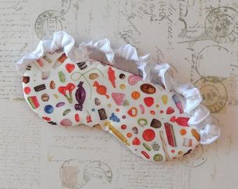 Liberty of London Penny Candy Sleep Mask // Cotton & Satin Eye Mask