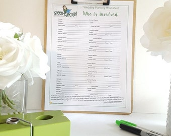 Wedding Music Playlist Worksheet: GEG's Wedding Planning