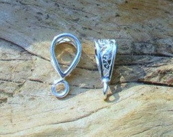 Sterling Silver Filigree Bail - Sold By The Piece