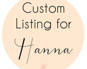 Custom Listing for Hanna - Cooler than Cool + Elegant Ricky
