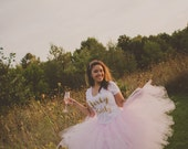 """Light Pink Adult Tutu for waist up to 34 1/2"""" great for Halloween, Birthdays, Dance and Bachelorette parties"""