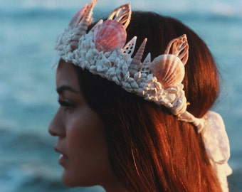 Crescent Mermaid Crown