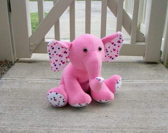 Personalize Your Own Custom Elephant Plush