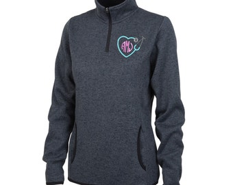 Fleece pullover | Etsy