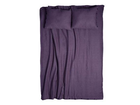 Violet linen duvet cover King size duvet Queen duvets Double duvet Full size bedding Twin size linen duvets