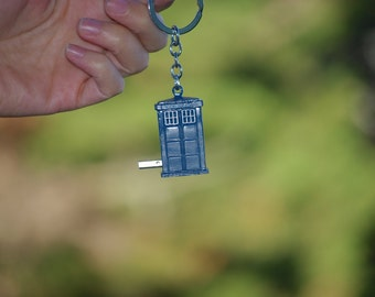 SALE 4GB 8GB Tardis ® Doctor Who ® Dr. Who ® flash drive USB macbook pro keychain laptop mac pc gift computer accessory gadget data storage