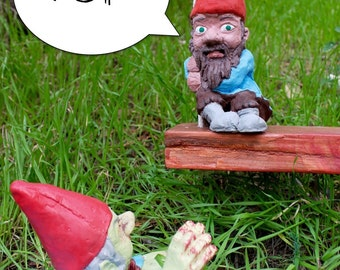 Special Edition Zombie Gnome: Swinging Sam w/ Mega-Larry