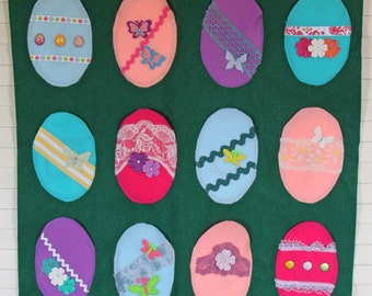 Happy Easter Advent Calendar (Resurrection Egg Style)