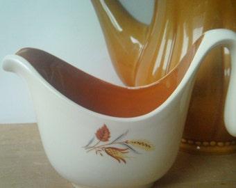 Vintage Creamer / Taylor Smith Taylor / Autumn Harvest