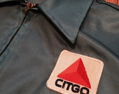 Vintage Citgo Service Station Zip Up Jacket