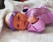 Jersey Sailor Knot Headband Knotted Headband Top Knot Headband Baby Toddler Adult Heabdand