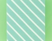 DIAGONAL STRIPES organic cotton elastane single jersey