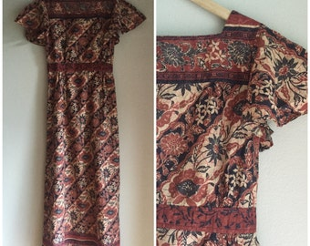 Hippie dress size xs to small