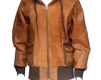 Ladies original recycled leather jacket