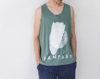 Dreamer Fantasy Moon Tank Top
