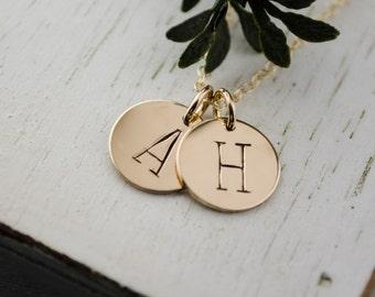 Gold Necklace | Liz Lemon Necklace | LL Necklace | Gold Initial Necklace | Necklace Initial Gold | Letter Necklace | 30 Rock Tina Fey