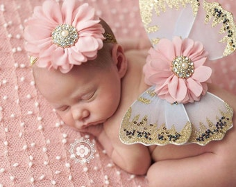 READY TO SHIP Baby Butterfly Wings Ready To Ship Photo Prop Baby Girl Butterfly Wings Baby Girl Photo Prop Newborn Wings Newborn Photo Prop