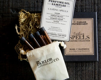 Casting Spells Perfume Collection Set - The Parlor Apothecary - 1 ml each