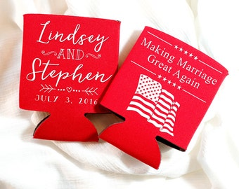 4th of july koozies | Etsy