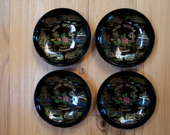 Nova Scotia Vintage Bowls Set of 4 Made in Japan