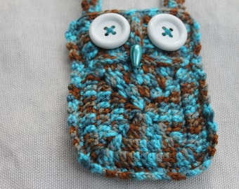 Stan the Blue and Brown Owl