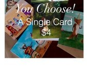Single Card, You Pick a Card, Valentine Card, Birthday Card, Anniversary Card, Wedding Card
