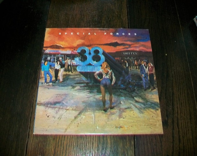 38 Special Special Forces Vinyl LP Record Album SP-04888 Vintage 1982