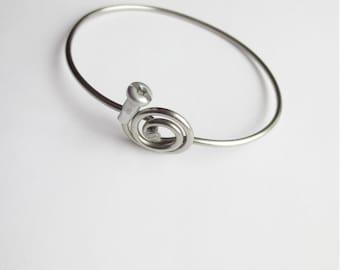 Bicycle Spoke Bracelet Bicycle Jewelry  Bicycle Accessories Anodized Metal Bracelet