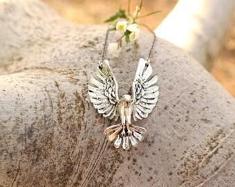 Free Spirit Eagle Necklace