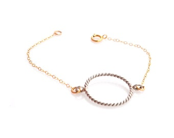 Twisty Circle Bracelet