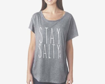 Stay Salty graphic tee