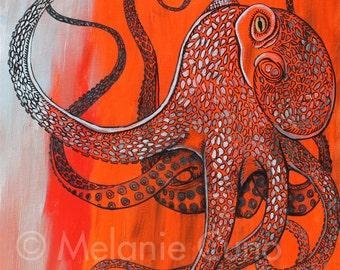 Octopus's Garden- 8x10 print