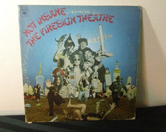 """The Firesign Theatre - Not Insane or Anything You Want To - KC 31585 - 12"""" vinyl lp, album (Columbia Records,1972) ~ 70s surrealistic comedy"""